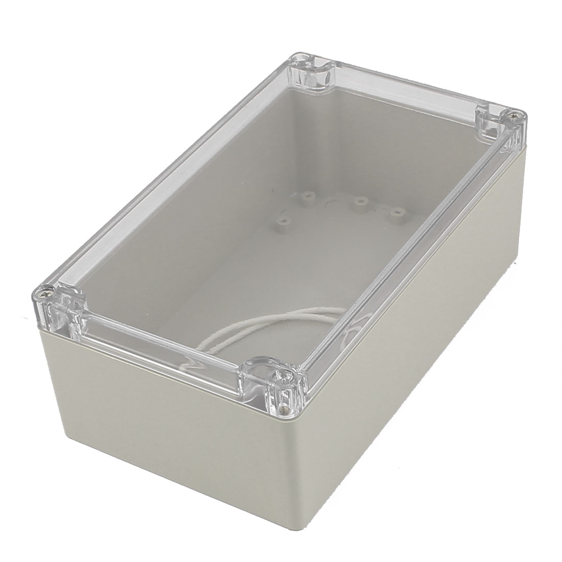 200mm x 120mm x 75mm Clear Cover Dustproof IP65 Enclosure Case DIY Junction Box