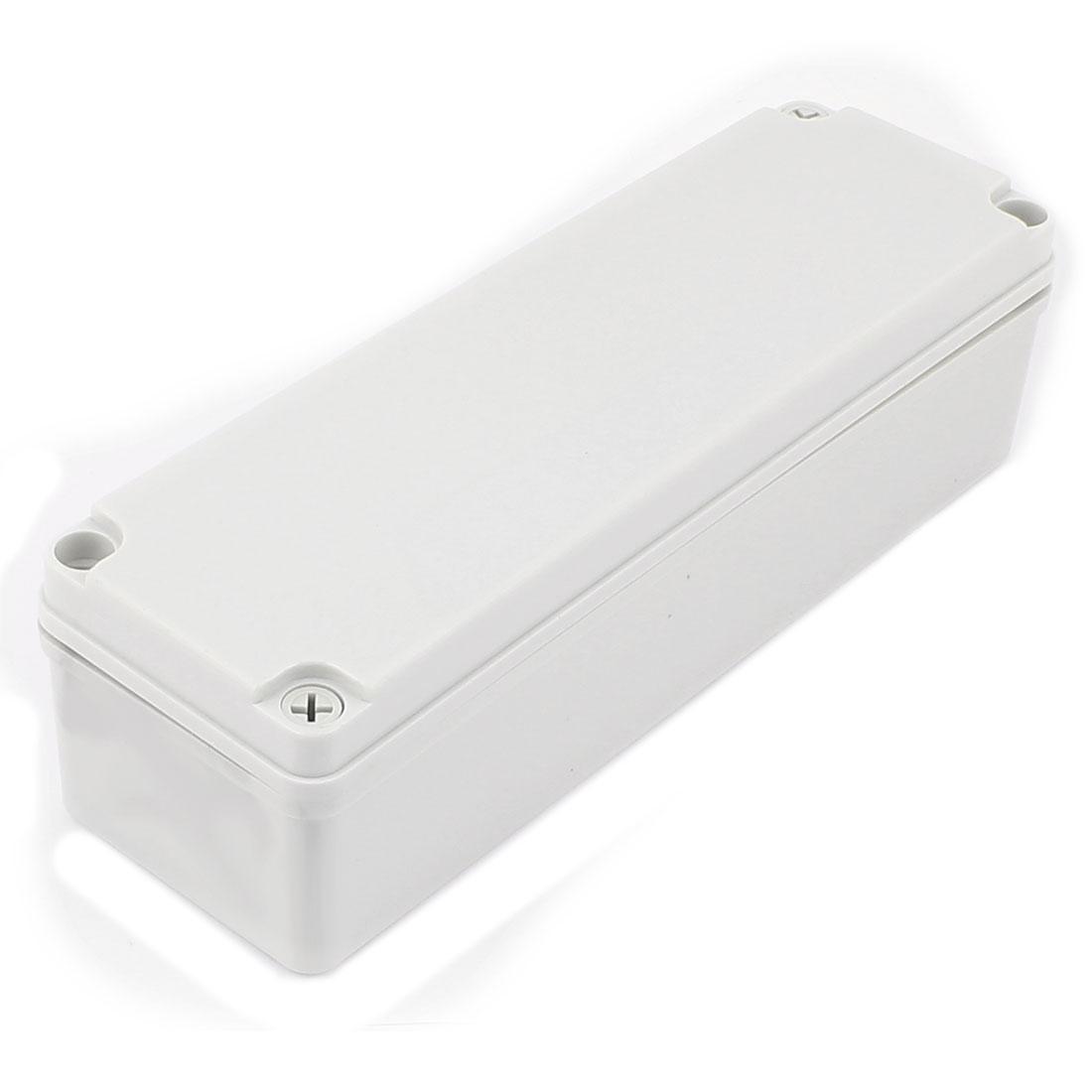 250mm x 80mm x 70mm Plastic Dustproof IP65 Sealed Enclosure Case DIY Junction Box