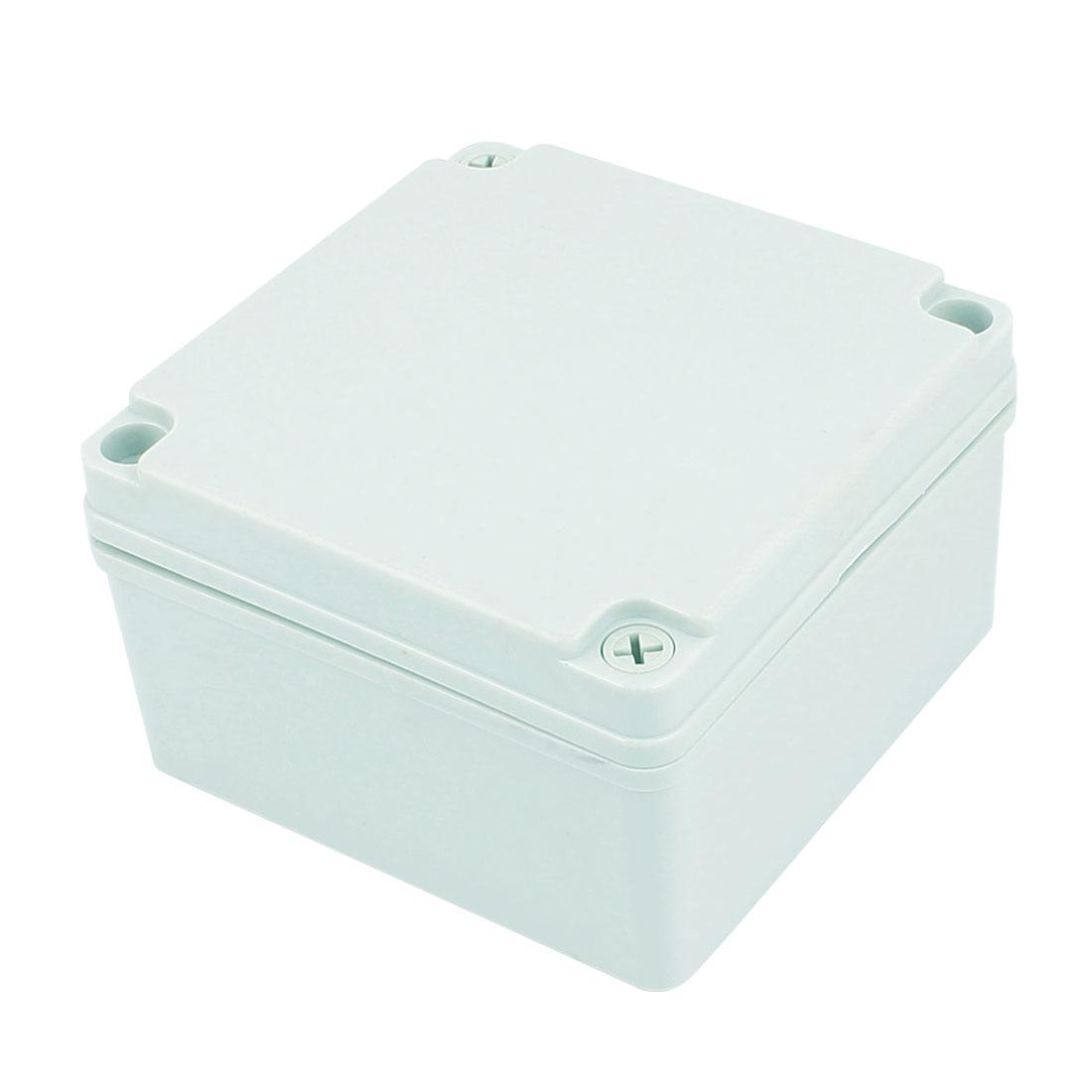 Dustproof IP65 Junction Box DIY Terminal Connection Enclosure Adaptable 117mm x117mm x 67mm