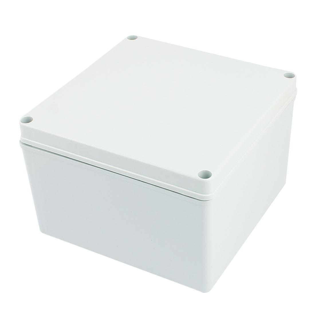 Dustproof IP65 Junction Box DIY Terminal Connection Enclosure Adaptable 192mm x192mm x 122mm