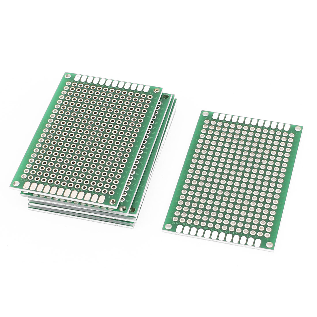 8Pcs Double-Side Prototype Solderable Paper Universal PCB Board 4x6cm