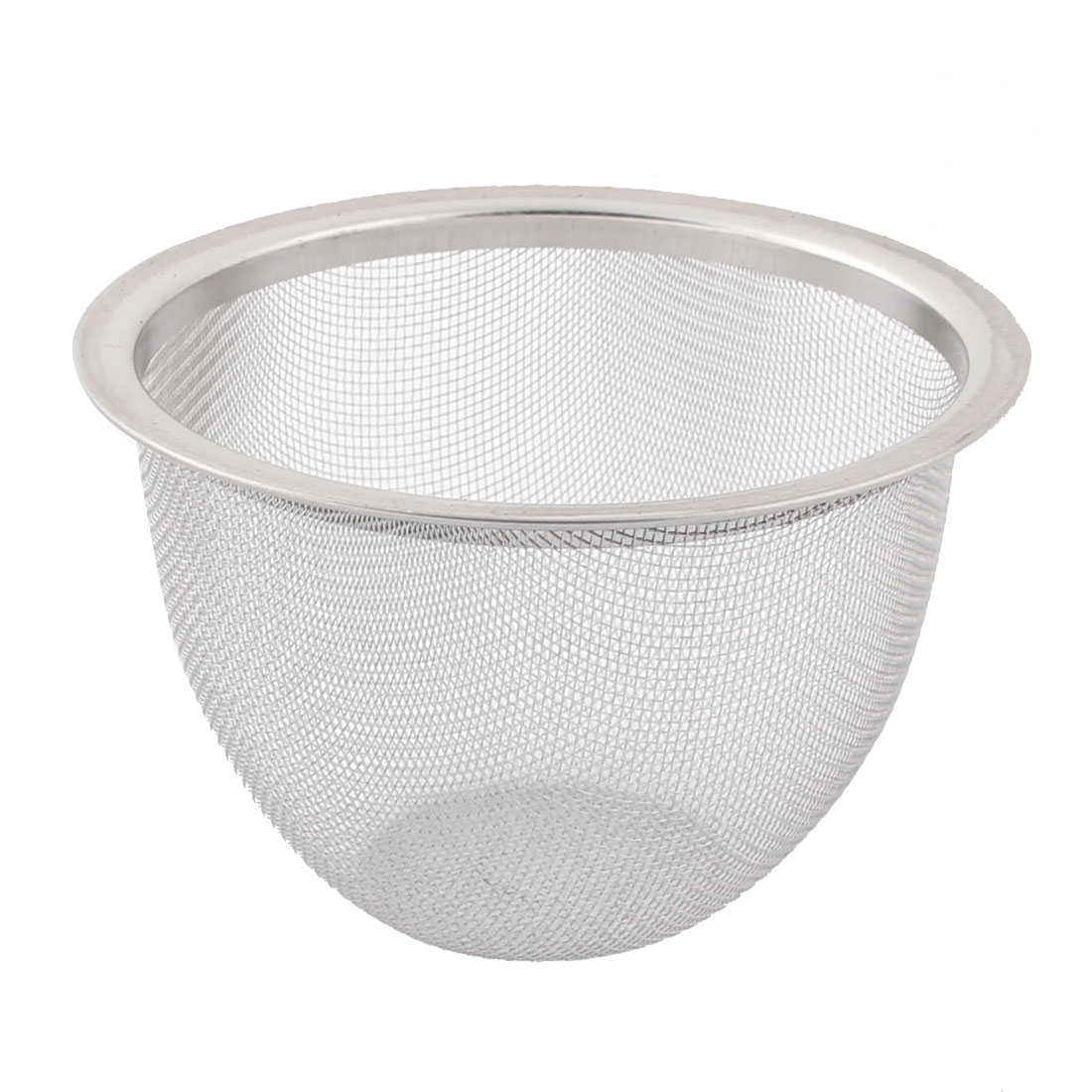 Tea Leaf Spice Stainless Steel Round Wire Mesh Filter Strainer 8cm Dia