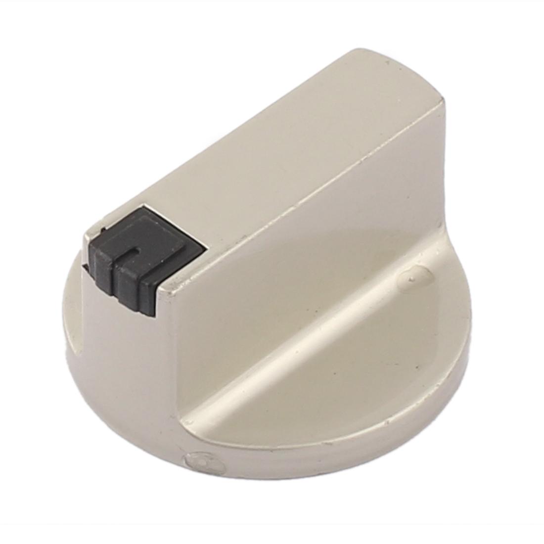 Kitchen Gas Stove Oven Alloy Rotary Controller Switch Range Knob Gray 4cm Dia
