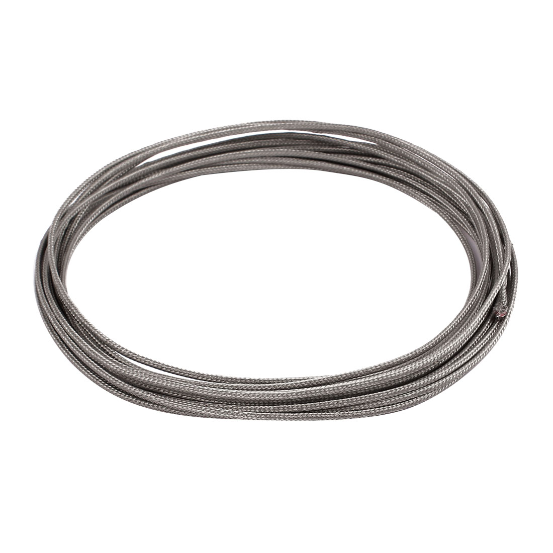 6.6 Meter 0.4mm Width Silver Tone Metal K Type Thermocouple Extension Wire