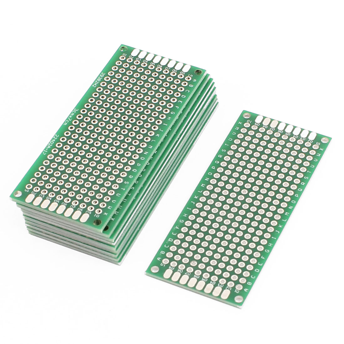 10 Pcs 3 x 7cm Double-Side Prototype Solderable Paper Universal PCB Board