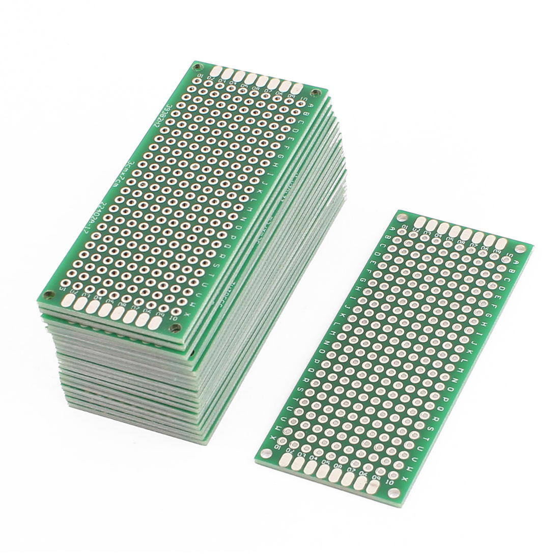 20 Pcs 3 x 7cm Double-Side Prototype Solderable Paper Universal PCB Board