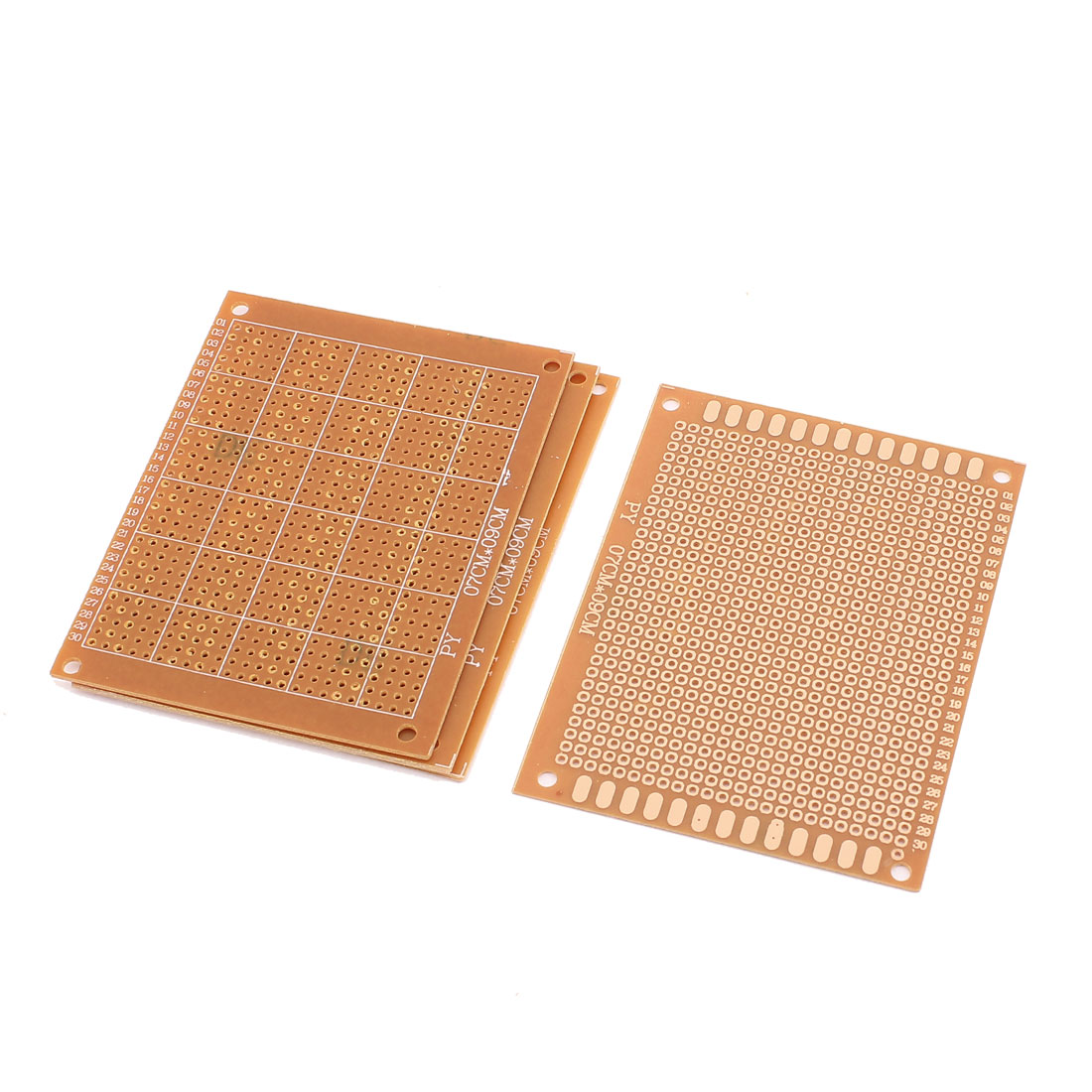 4Pcs 9 x 7cm Single-Side Prototype PCB Panel Universal Matrix Circuit Board