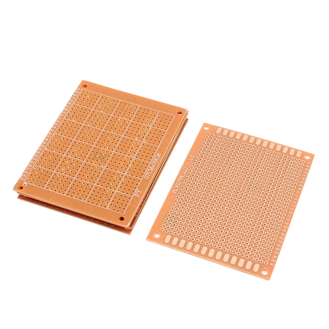6pcs 9 x 7cm Solder Finished Prototype PCB for DIY Circuit Board Breadboard