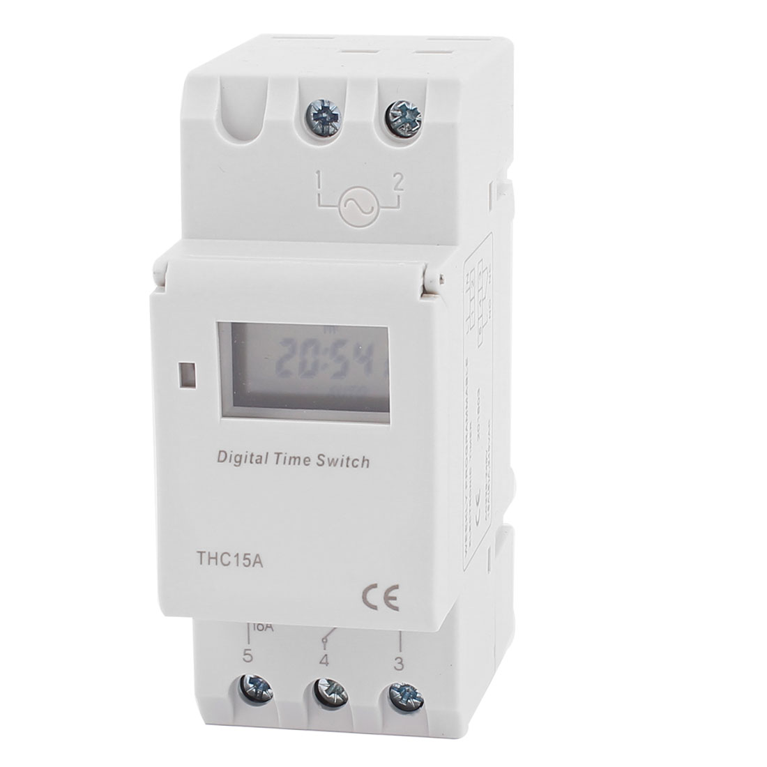 THC15A 220V-240V AC LCD Digital Electronic Programmable Timer Time Relay Switch
