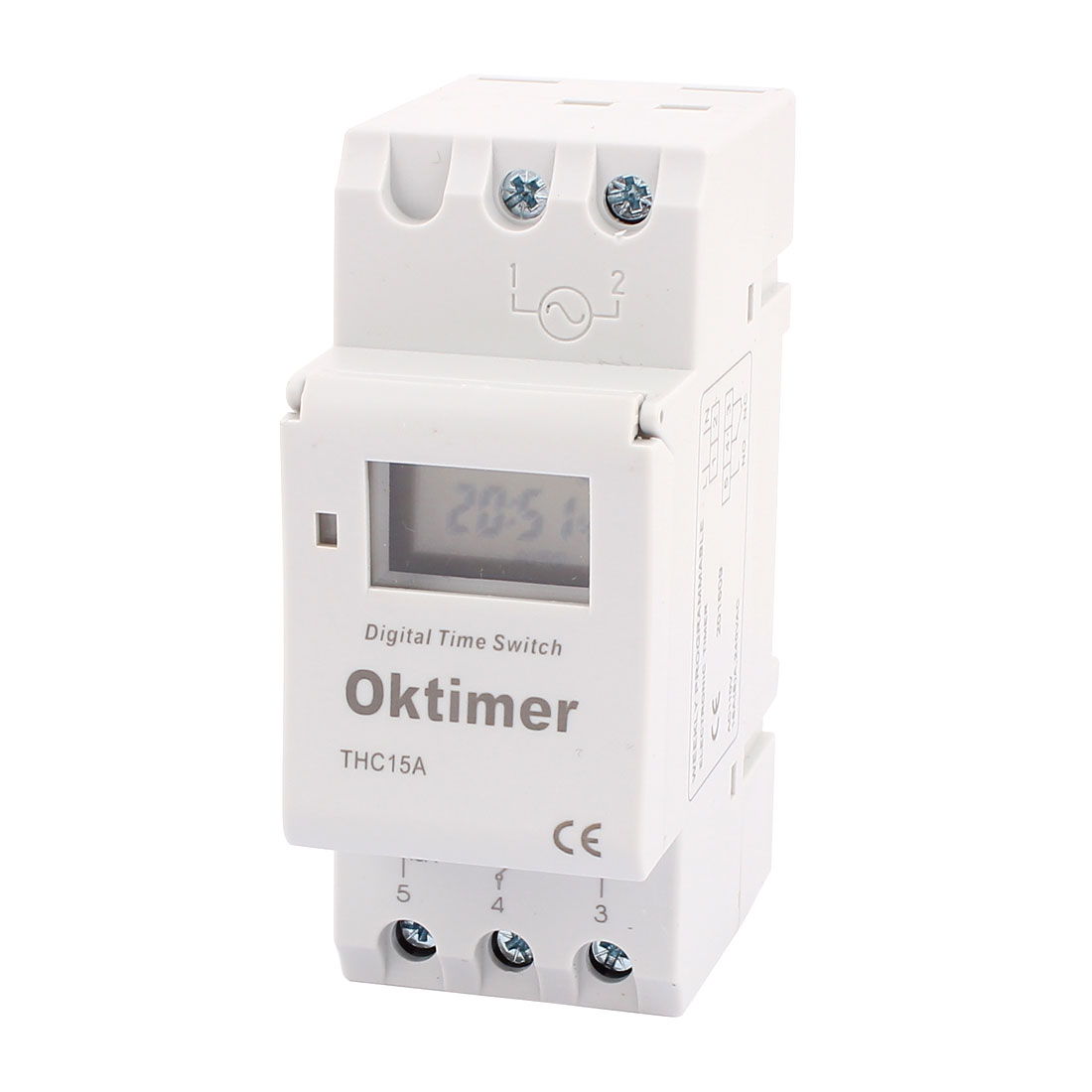 THC15A 110V AC LCD Digital Electronic Programmable Timer Time Relay Switch