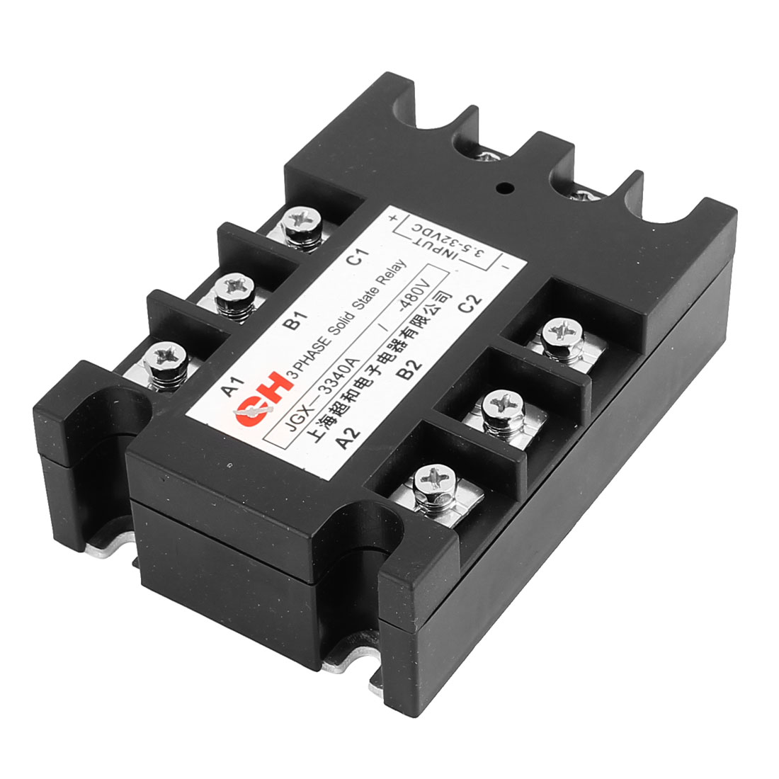 JGX-33 40A DC to DC DD 3.5-32V DC to 480V DC Three 3 Phase Solid State Relay