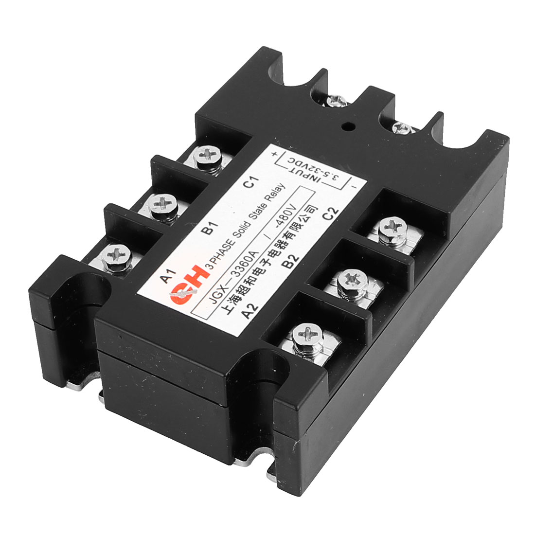 JGX-33 60A DC to DC DD 3.5-32V DC to 480V DC Three 3 Phase Solid State Relay
