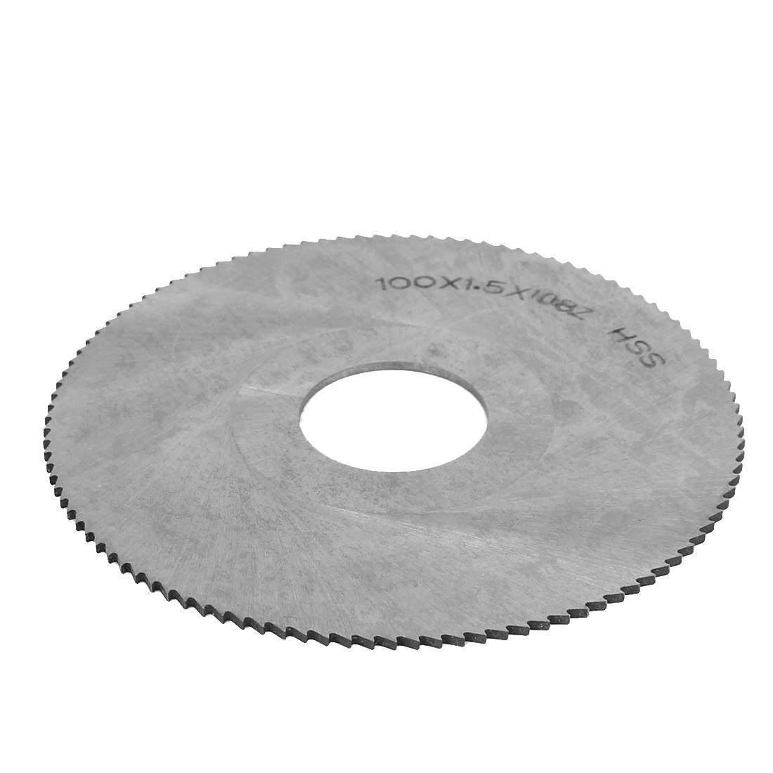 100mm Dia 1.5mm Thickness Slitting Slotting Circular Saw Cutting Disc Wheel Blade