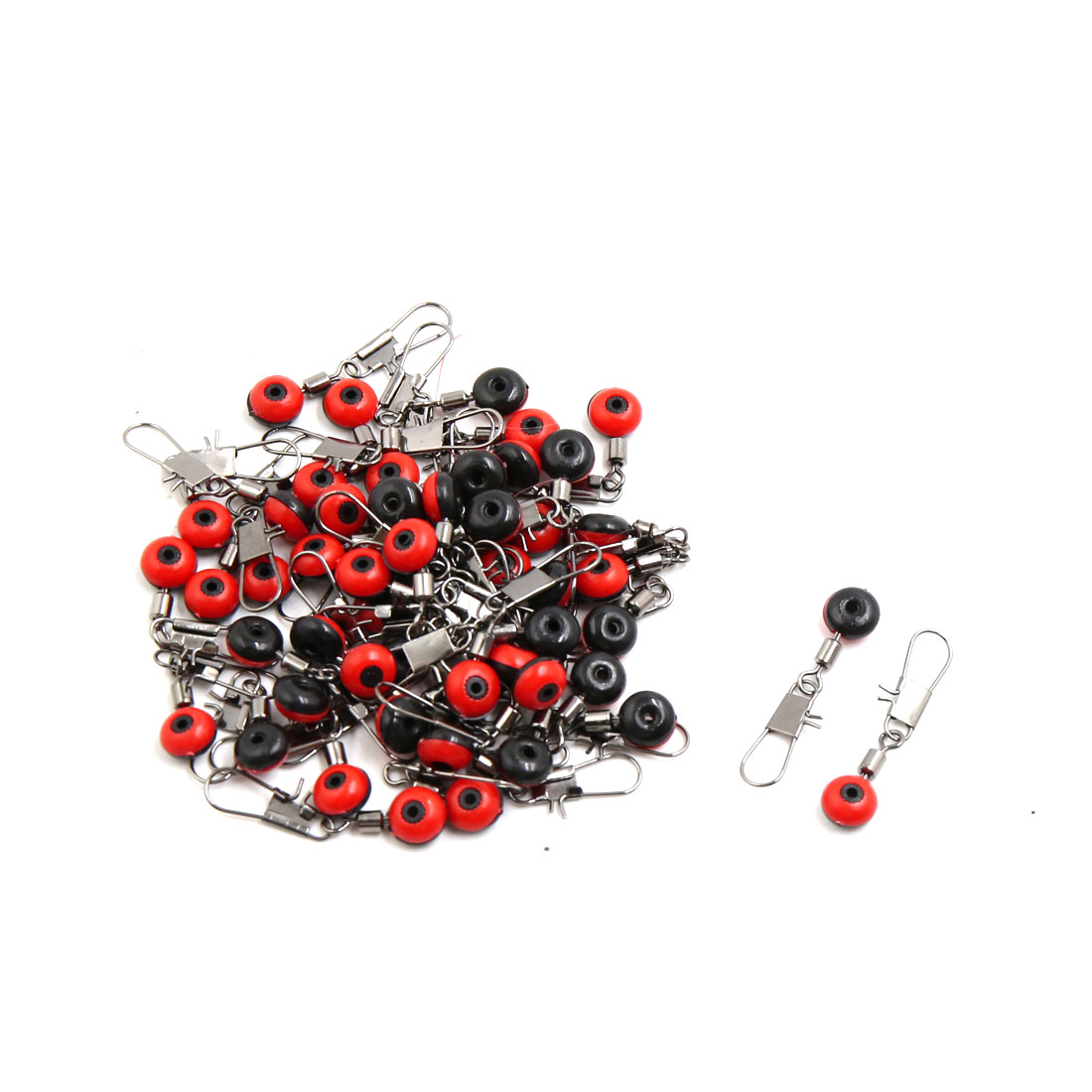 50pcs Red Beans Design Car Interior Keychain Hanging Ornament Decoration