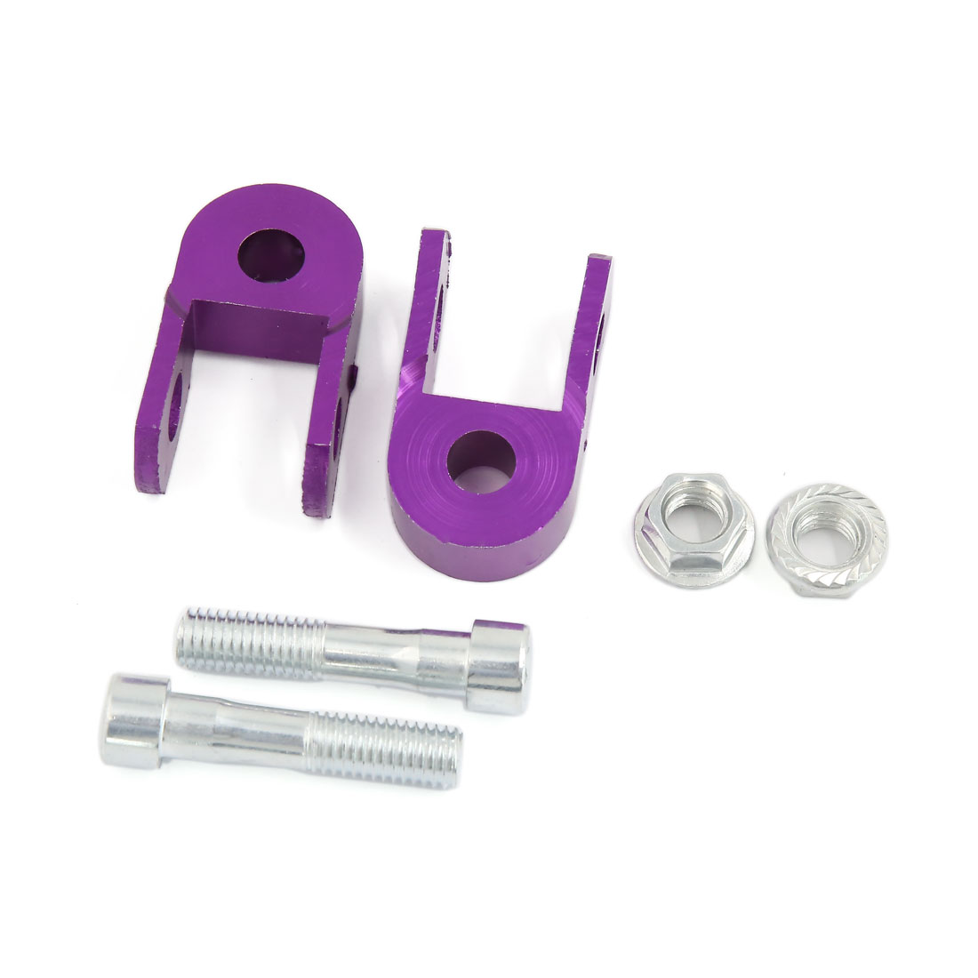 2pcs Purple Shock Absorber Height Extension Extender Riser for Motorcycle Pit Dirt Bike ATV