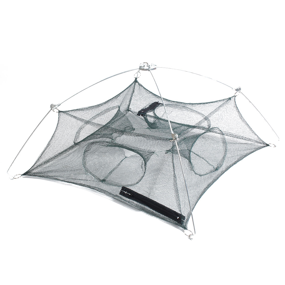 Outside Fishing Tool Telescopic Shrimp Eel Crab Bait Cast Fishing Umbrella Dip Net