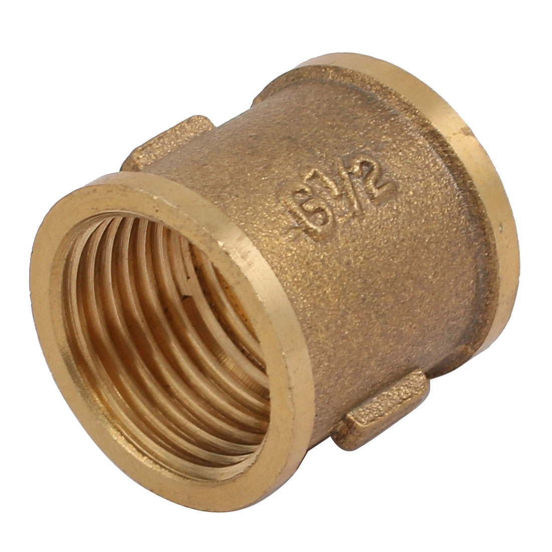 G1/2'' Female Thread Brass Straight Pipe Connecting Fittings