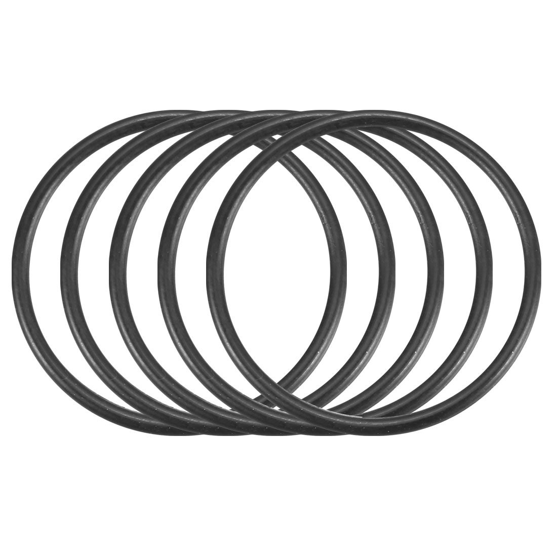 100Pcs Black Universal O-Ring 20mm x 1.2mm BUNA-N Material Oil Seal Washers Grommets