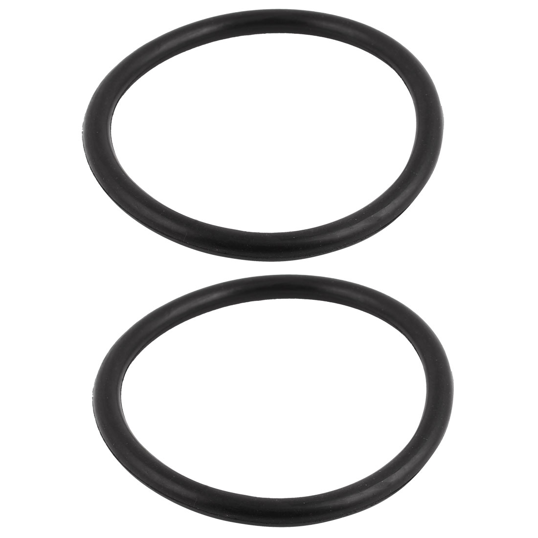 2Pcs Black Universal O-Ring 115mm x 8.6mm BUNA-N Material Oil Seal Washers Grommets