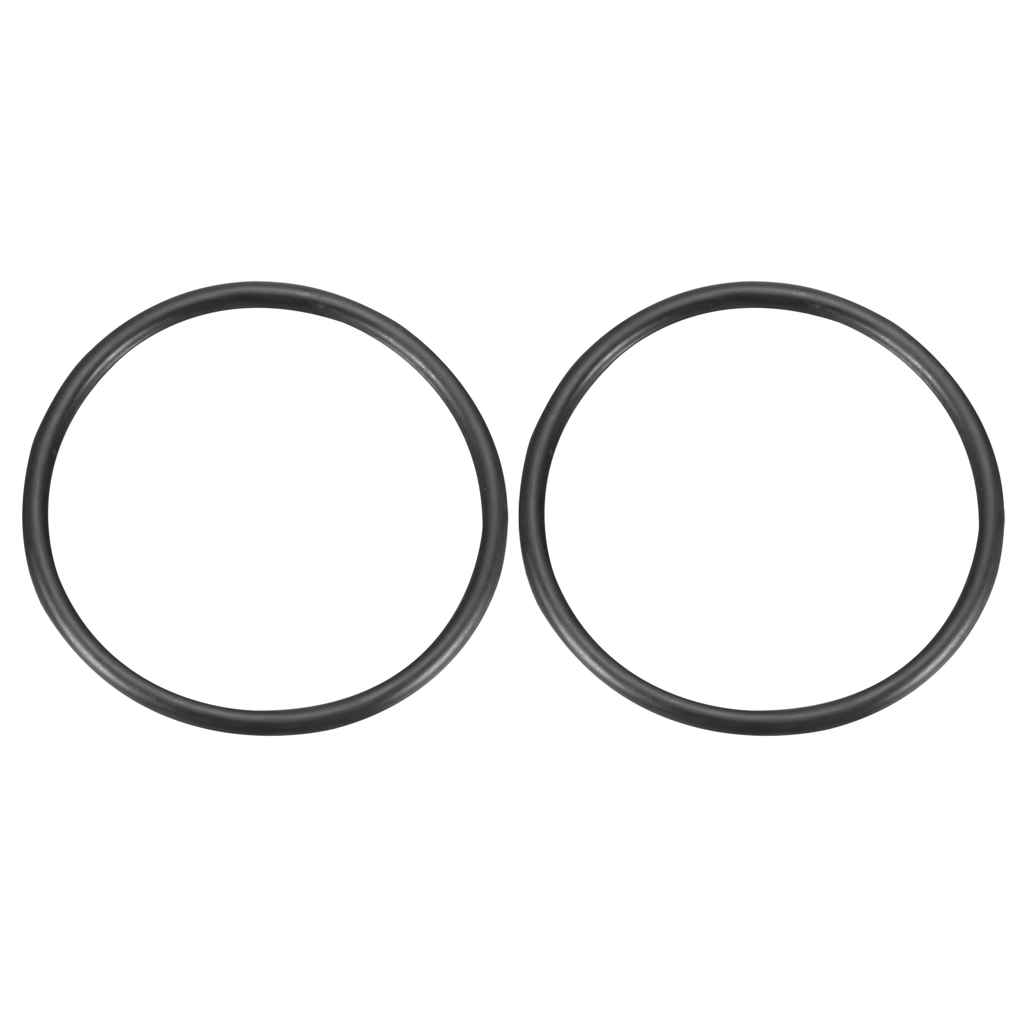 2Pcs Black Universal O-Ring 145mm x 8.6mm BUNA-N Material Oil Seal Washers Grommets