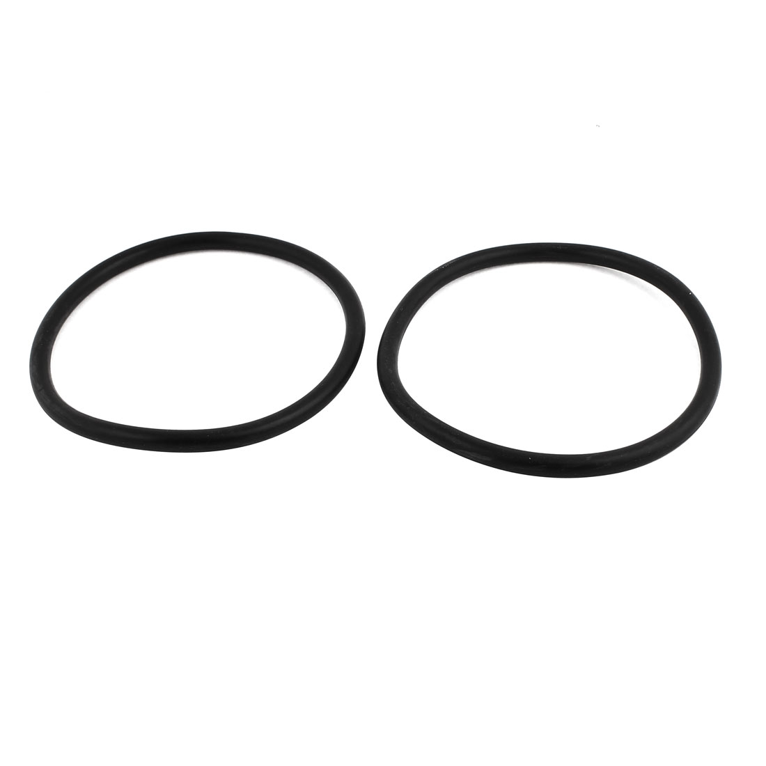 2Pcs Black Universal O-Ring 155mm x 8.6mm BUNA-N Material Oil Seal Washers Grommets