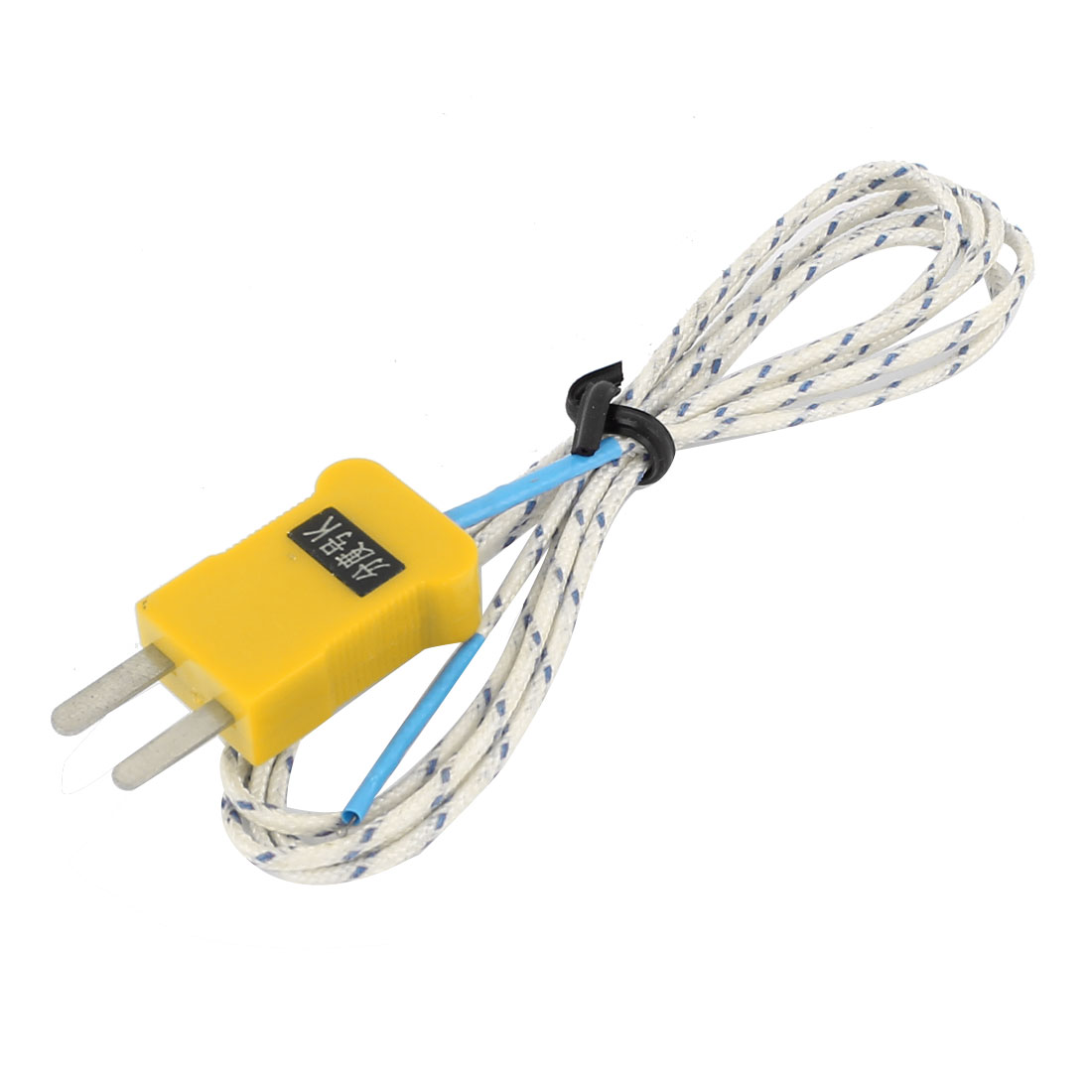 K Type Temperature Testing Thermocouple Sensor Probe Wire 1Meter 3.3Ft