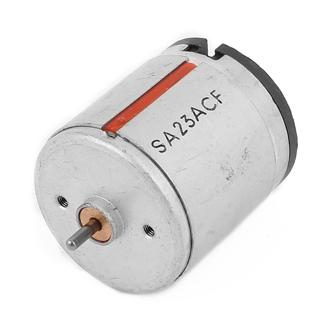 DC 24V 7700RPM 2.3mm Dia Shaft 2 Terminal Cylindrical Electrical DC Motor
