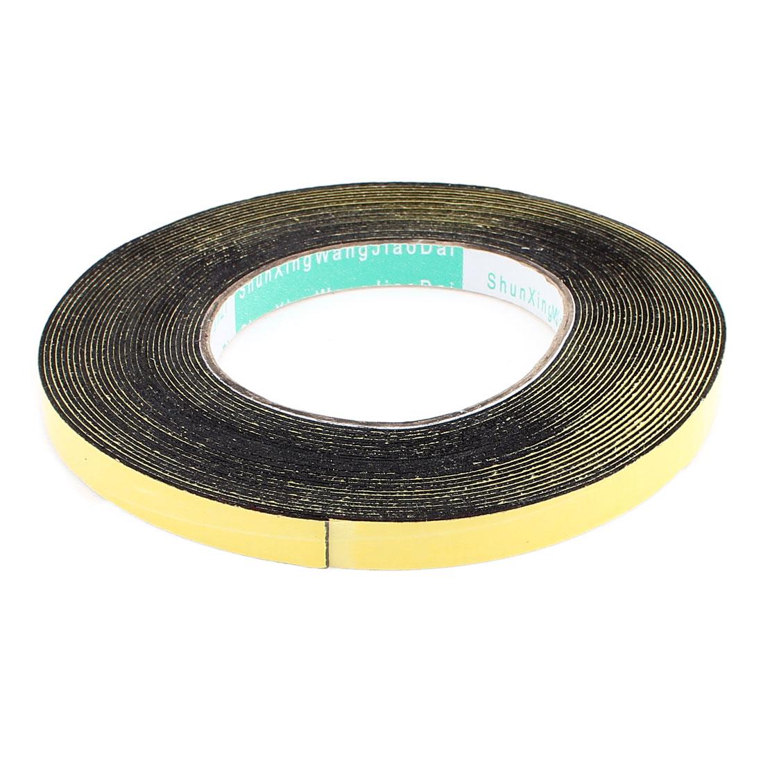 10 Meters 10mm x 1mm Single Side Adhesive EVA Foam Sealing Tap