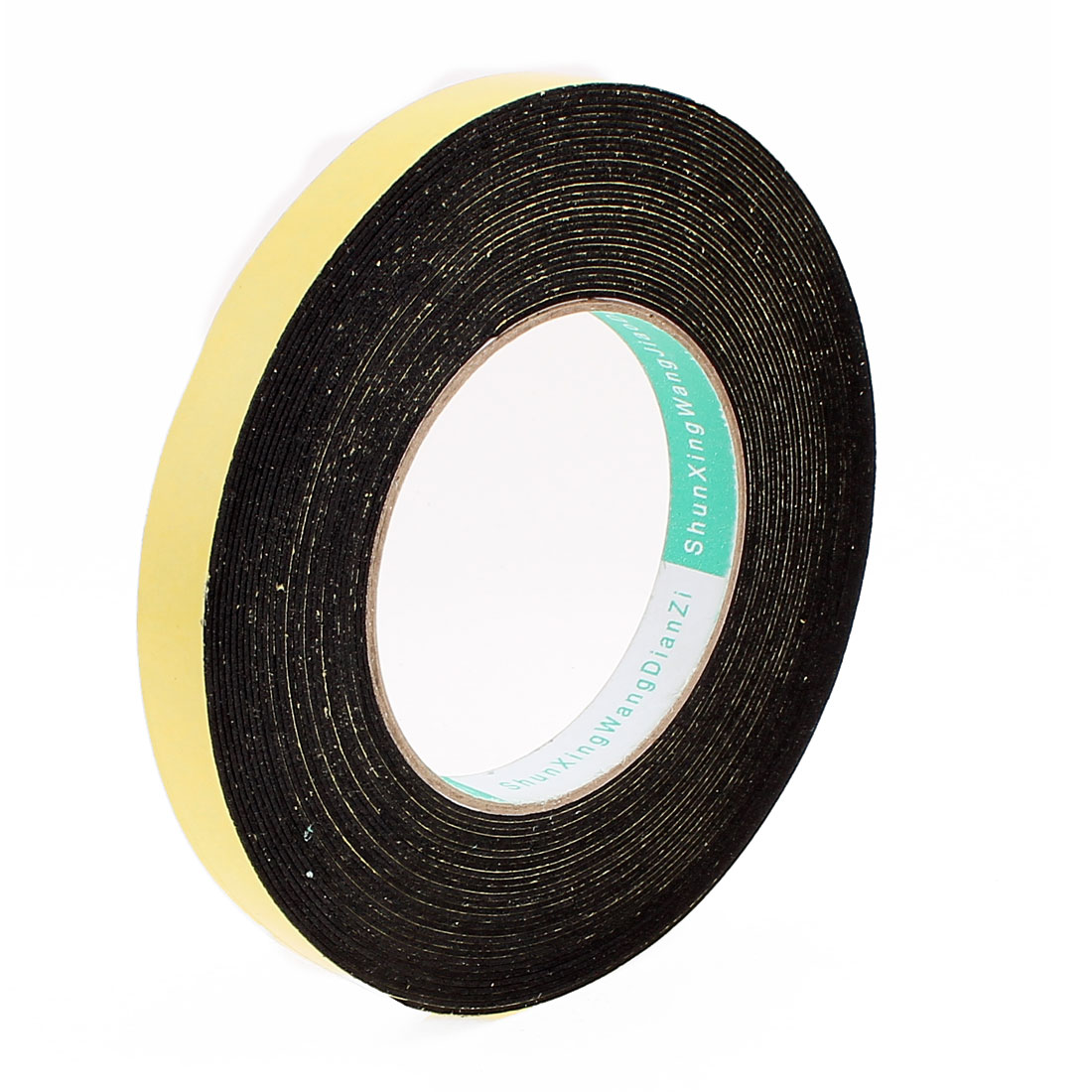 10 Meters 15mm x 1mm Single Side Adhesive EVA Foam Sealing Tap