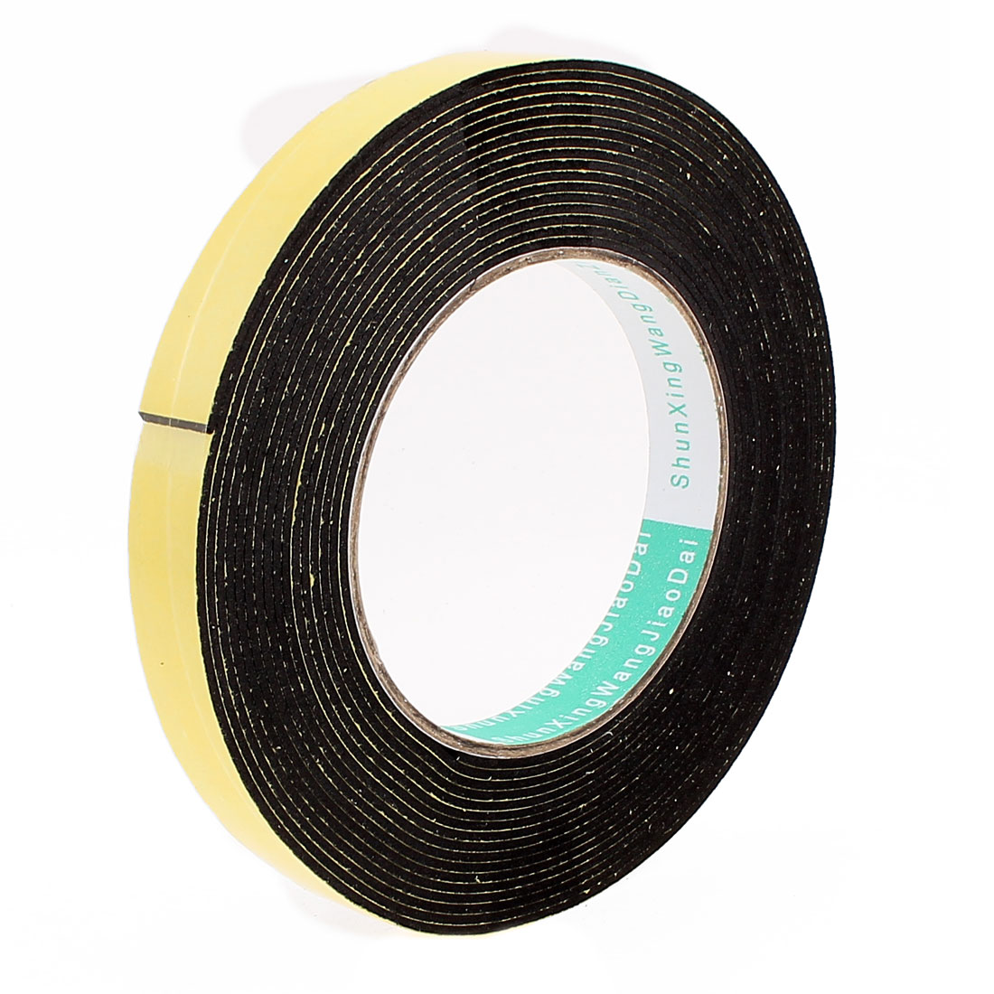 5 Meters 15mm x 1.5mm Single Side Adhesive EVA Foam Sealing Tap