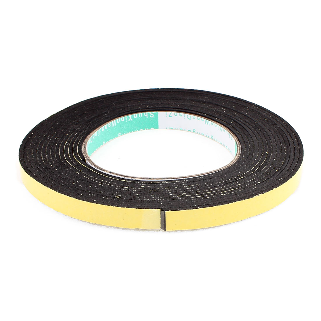 5 Meters 10mm x 2mm Single Side Adhesive EVA Foam Sealing Tap