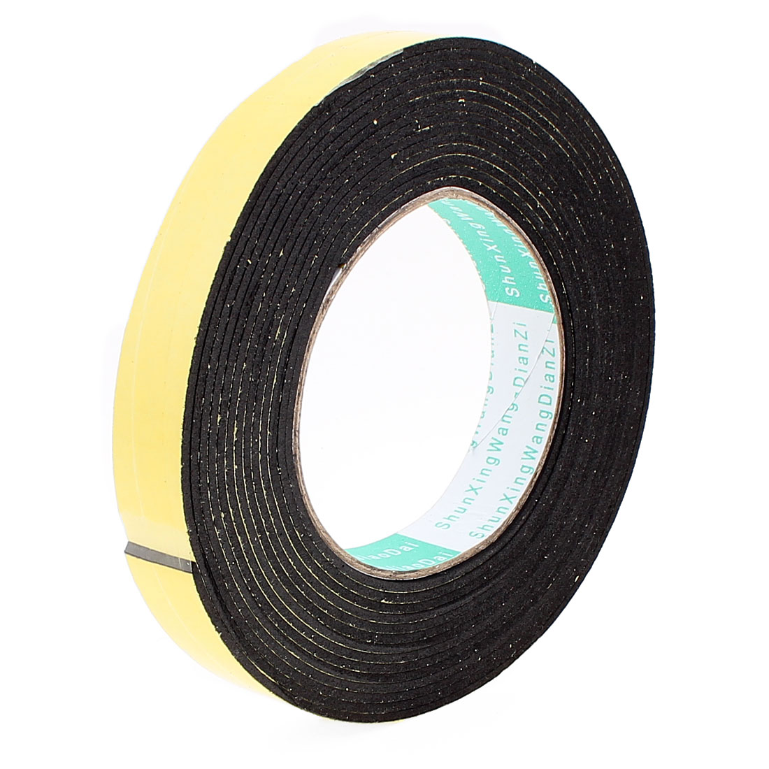 5 Meters 20mm x 2mm Single Side Adhesive EVA Foam Sealing Tap