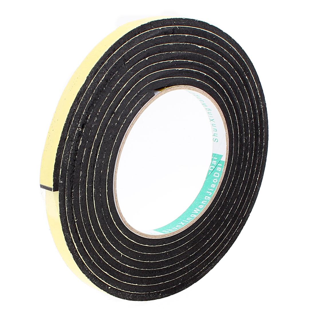 3 Meters 10mm x 4mm Single Side Adhesive EVA Foam Sealing Tap