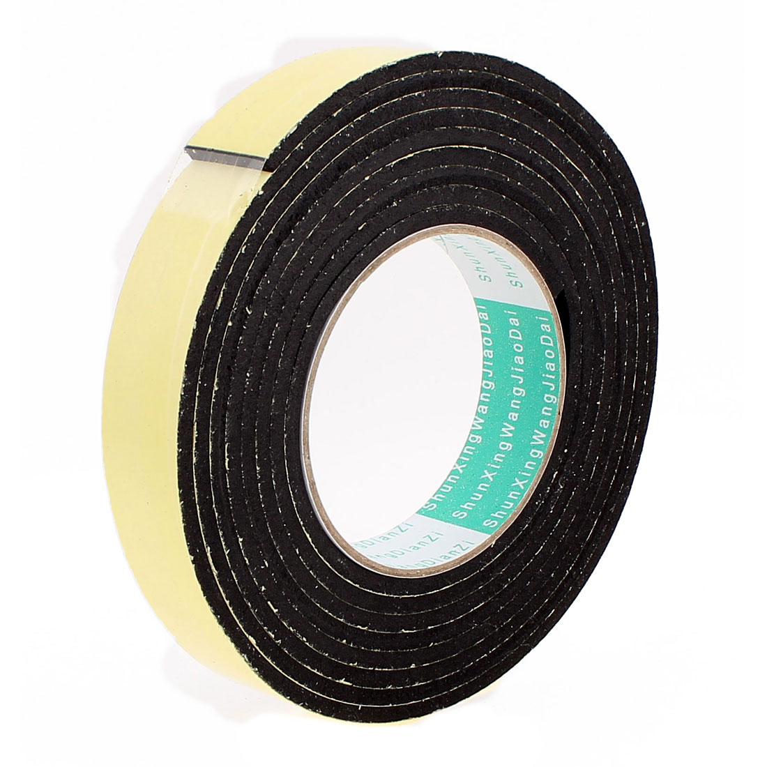 3 Meters 25mm x 4mm Single Side Adhesive EVA Foam Sealing Tap