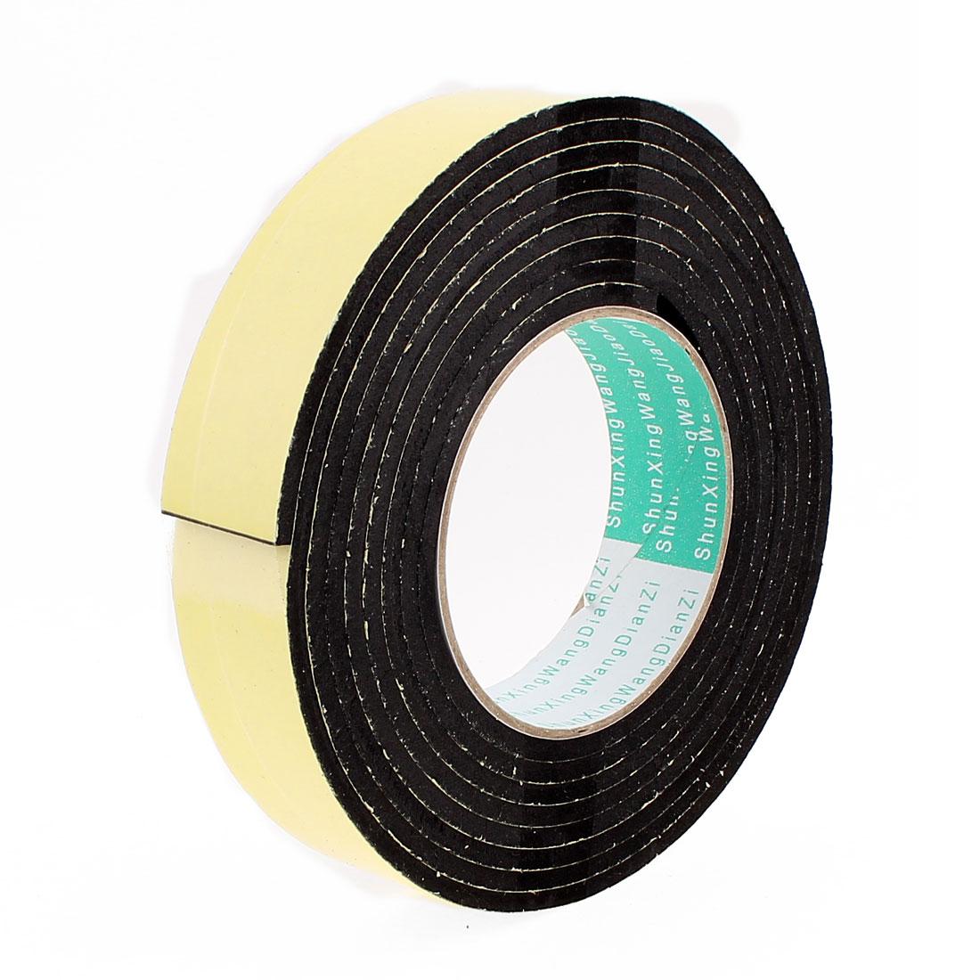 3 Meters 30mm x 4mm Single Side Adhesive EVA Foam Sealing Tap