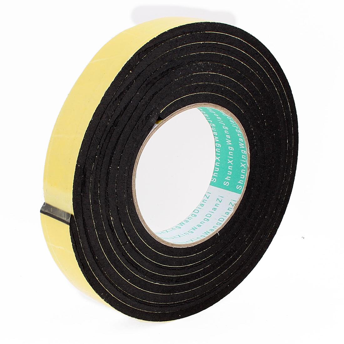3 Meters 25mm x 5mm Single Side Adhesive EVA Foam Sealing Tap
