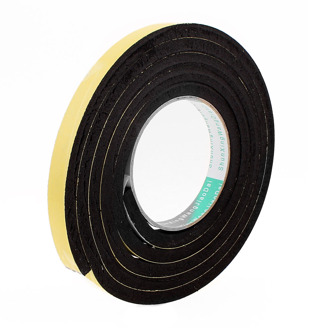 2 Meters 15mm x 8mm Single Side Adhesive EVA Foam Sealing Tap