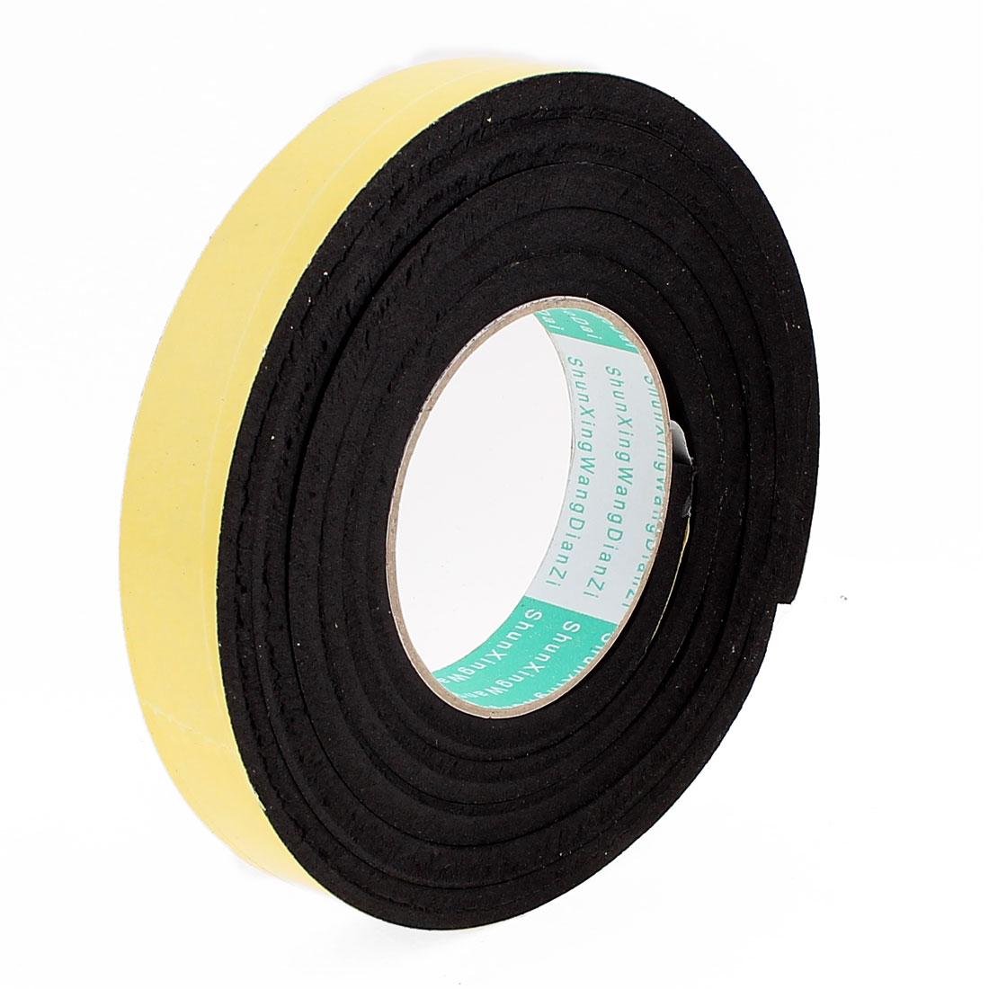 2 Meters 25mm x 8mm Single Side Adhesive EVA Foam Sealing Tap