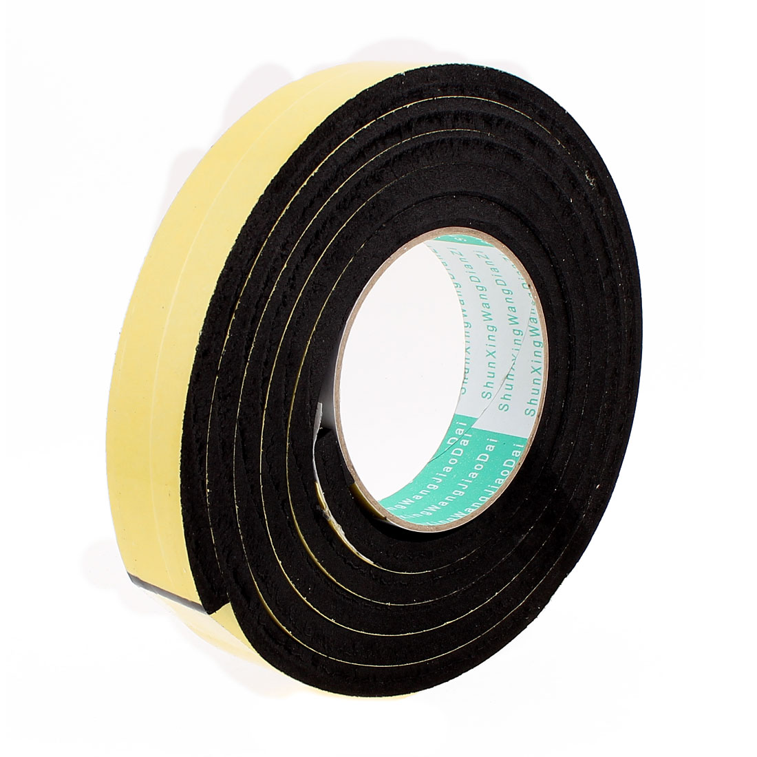 2 Meters 30mm x 8mm Single Side Adhesive EVA Foam Sealing Tap