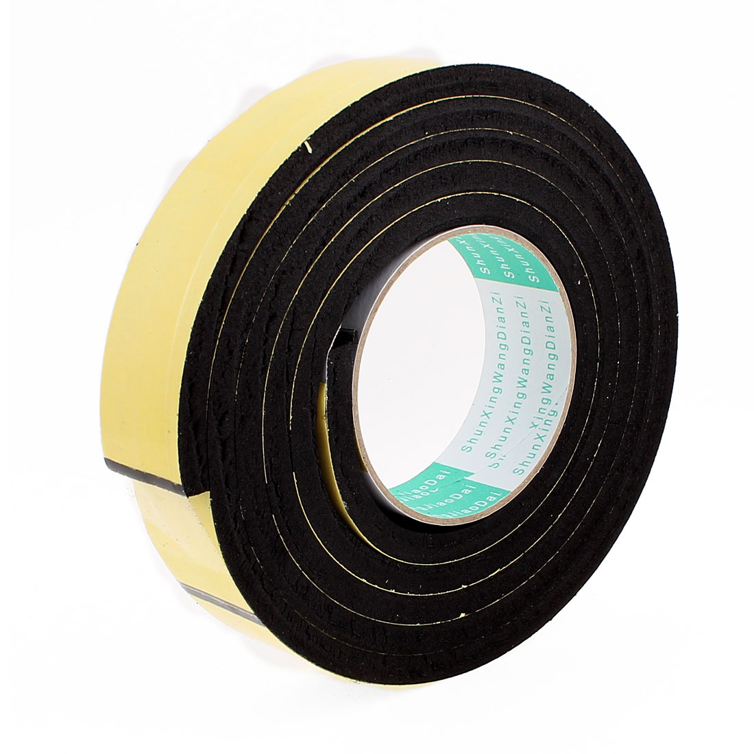 2 Meters 35mm x 8mm Single Side Adhesive EVA Foam Sealing Tap