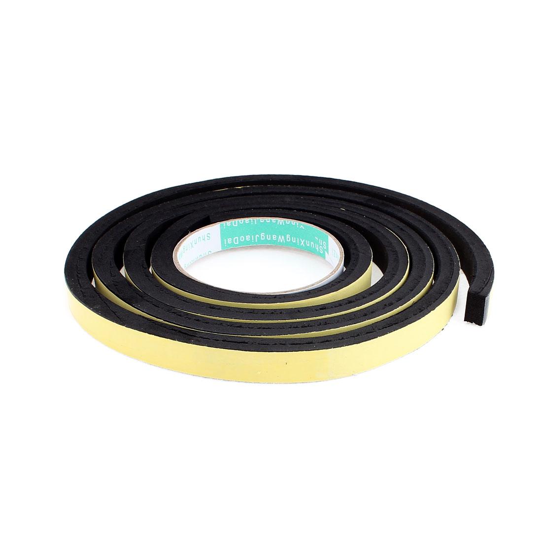 2 Meters 15mm x 10mm Single Side Adhesive EVA Foam Sealing Tap