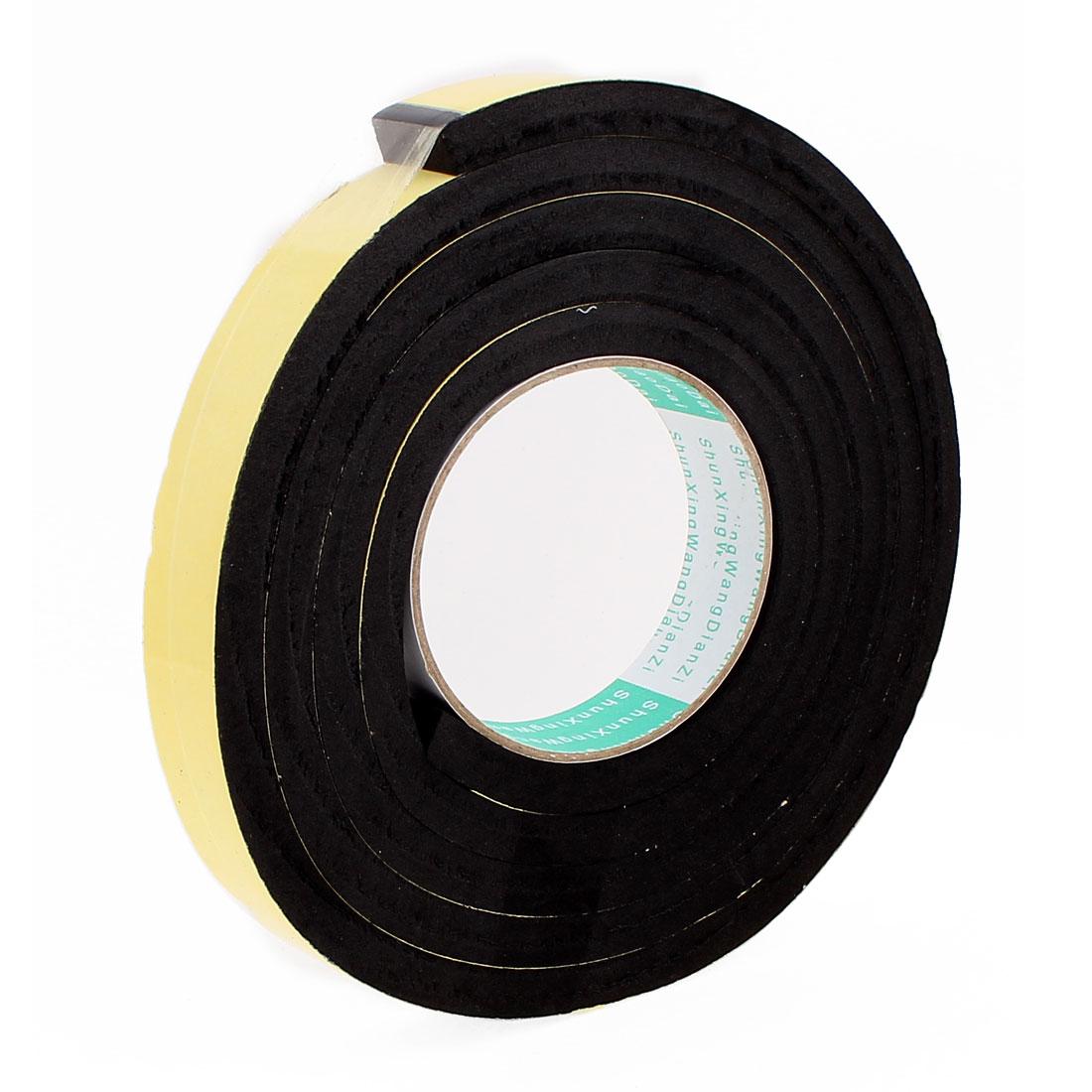 2 Meters 25mm x 10mm Single Side Adhesive EVA Foam Sealing Tap