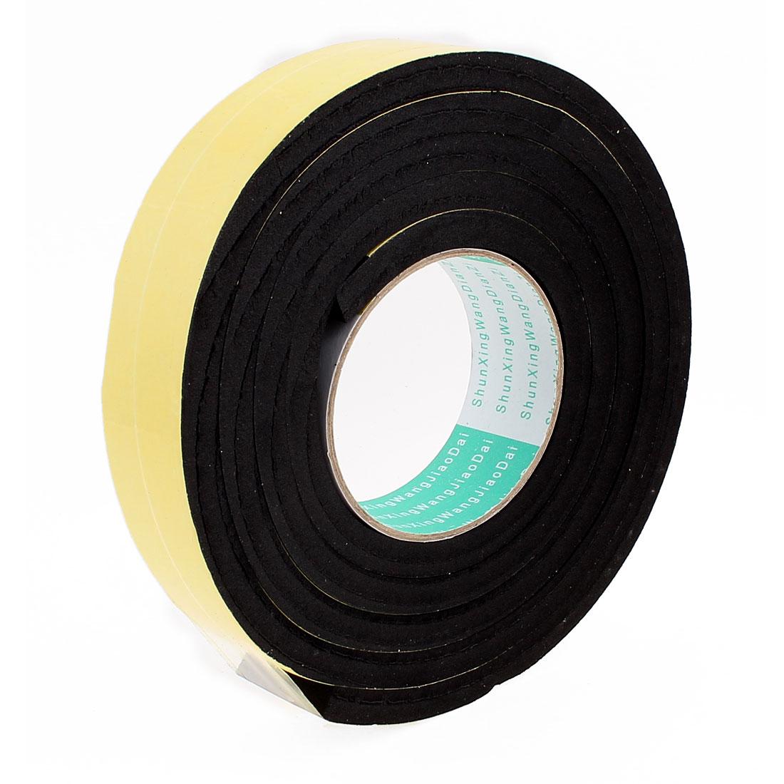 2 Meters 35mm x 10mm Single Side Adhesive EVA Foam Sealing Tap
