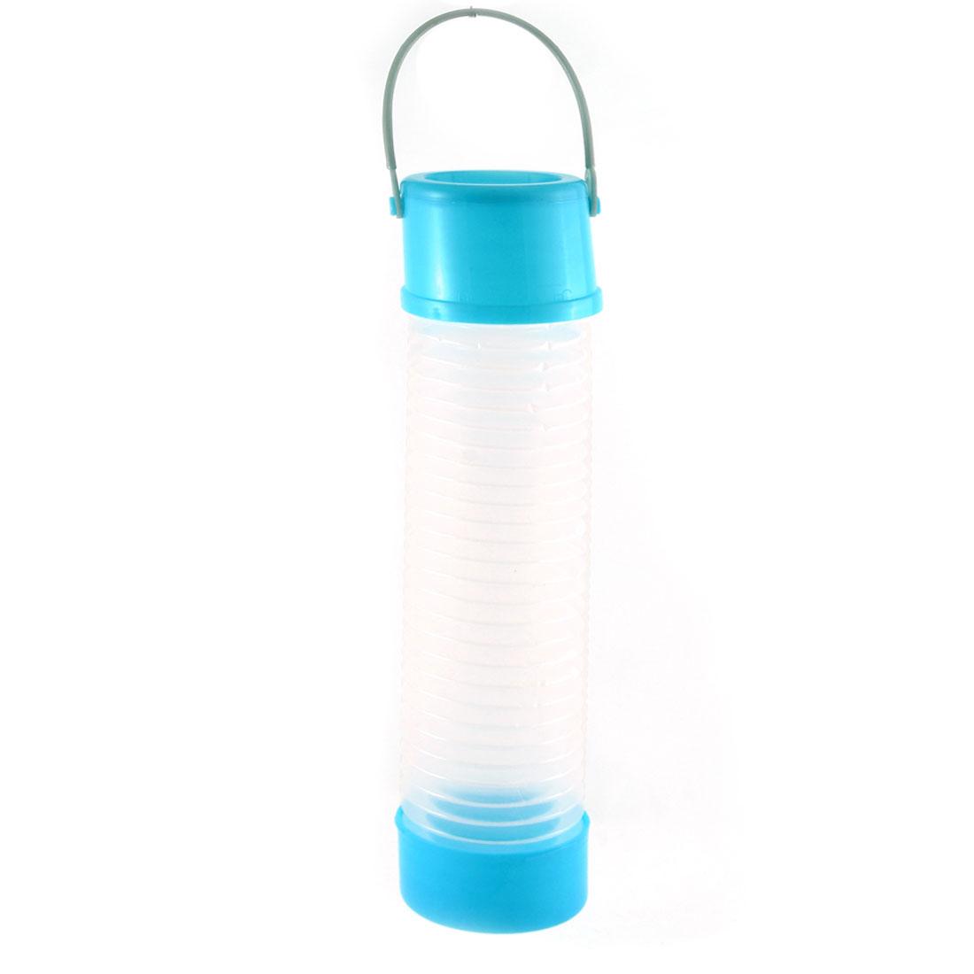 Car School Plastic Retractable Canister Design Umbrella Organiser Container Blue