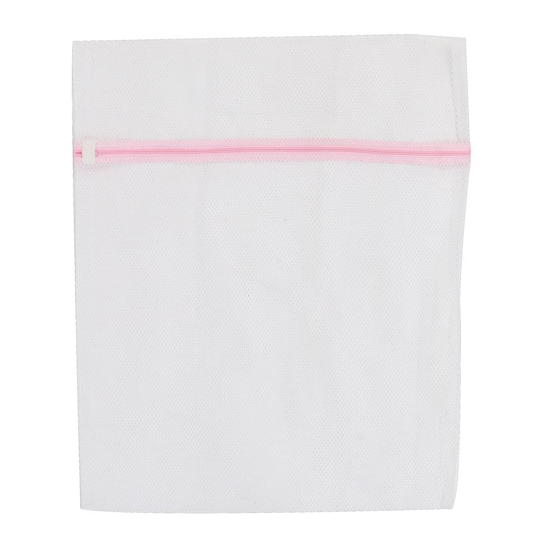 Home Laundry Washing Machine Clothes Socks Underwear Mesh Zippered Washing Bag