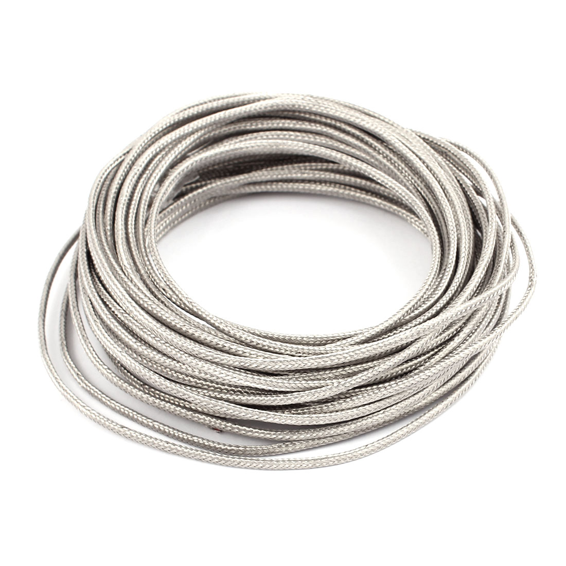 10.5 Meter 0.5mm Width Silver Tone Metal K Type Thermocouple Extension Wire
