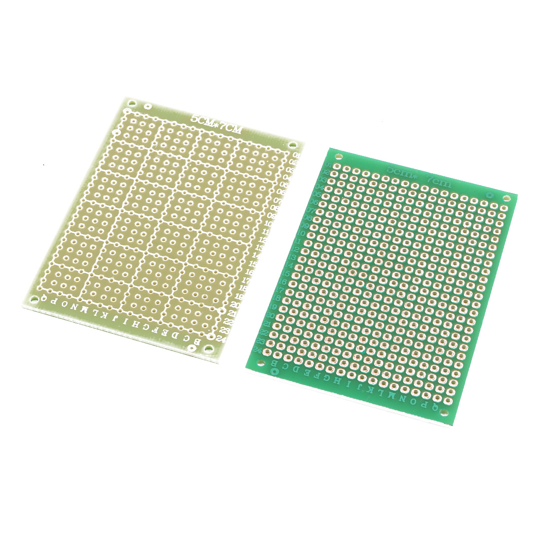 2Pcs Single-Side DIY Prototype Paper fr4 Universal PCB Board 5cm x 7cm