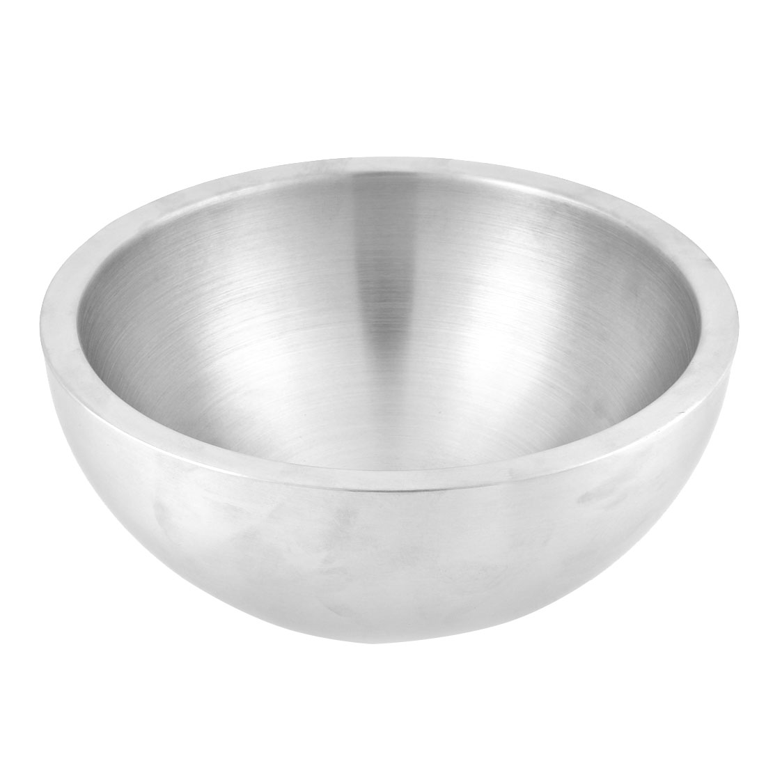 Home Restaurant Concise Style Dual Walled Insulation Salad Bowl 24cm Dia