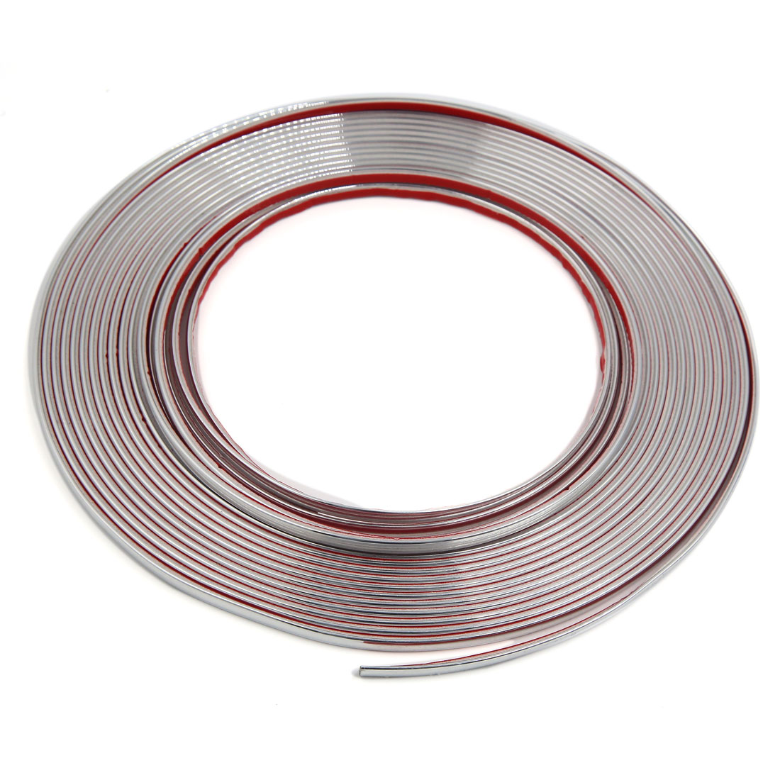 10mm Width Silver Tone Adhesive Door Edge Guard Protective Strip for Car