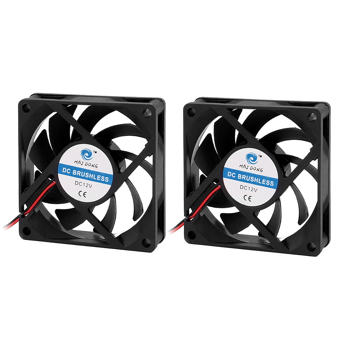 70 x 70 x 15mm DC 12V 0.16A Radiator Cooling Fan Case Cooler for Computer
